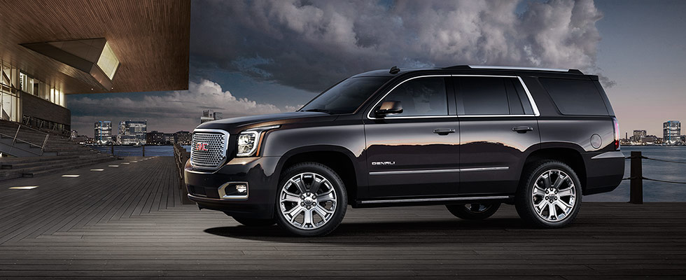 GMC Yukon Denali Luxury SUV Exterior Photos - GMC Jordan